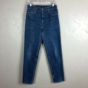 Vintage Levi's 550 Dark Wash Jeans Tapered Leg